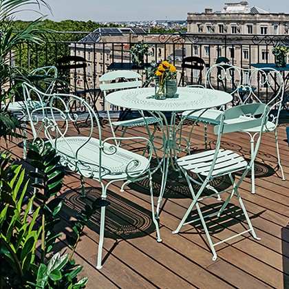 Fermob French Outdoor Furniture Barbed, French Outdoor Furniture