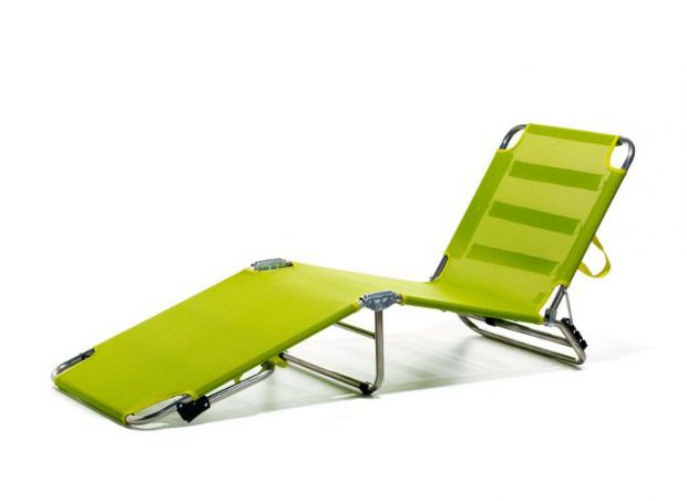 Enjoy the summer with a sun lounger