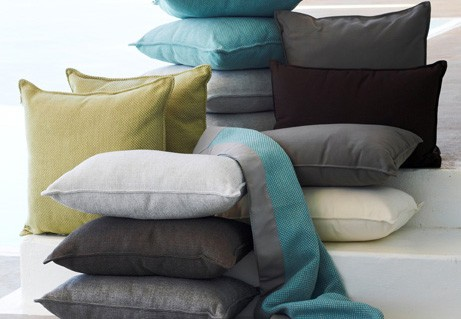 Barbed Loves: Outdoor Scatter cushions and throws