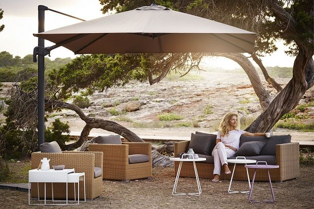Stay cool this summer with garden parasols