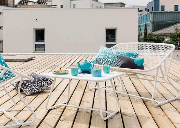 Bright ideas for a city balcony