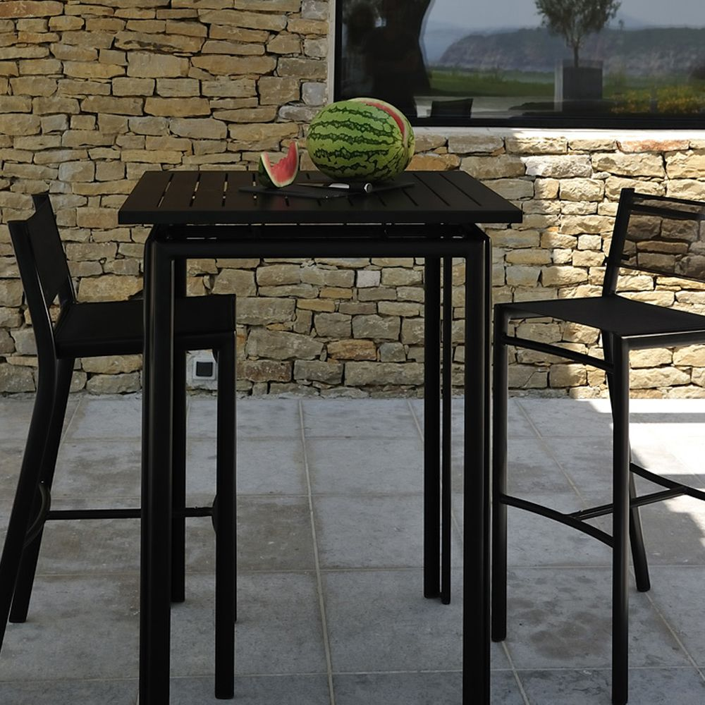 fermob costa high table high tables barbed. Black Bedroom Furniture Sets. Home Design Ideas
