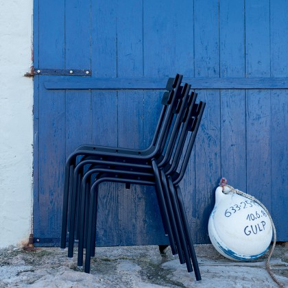 Luxembourg Steel Stacking Chair (Commercial use recommended)