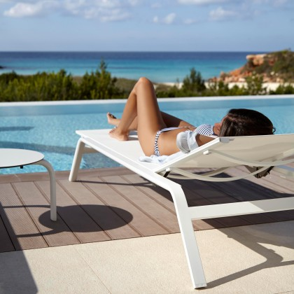 Gandia Blasco Tumbona Stack - Chaiselongue
