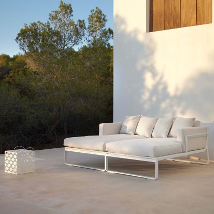 Gandia Blasco Flat Modular Sofa 2 - With Right Armrest