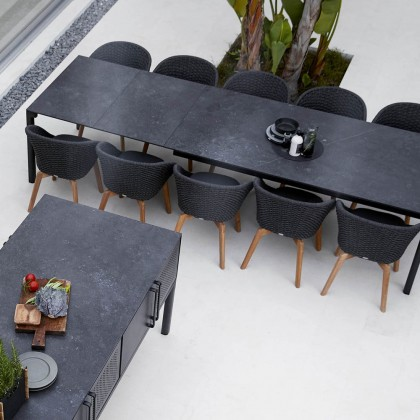 Drop Dining Table 200/320x100cm