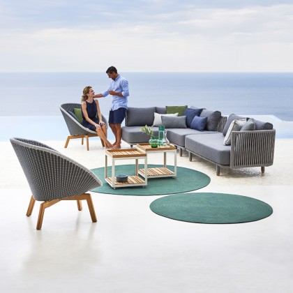 Infinity Round Outdoor Carpet