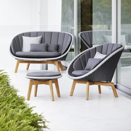 Peacock 2 Seater Sofa - Weave