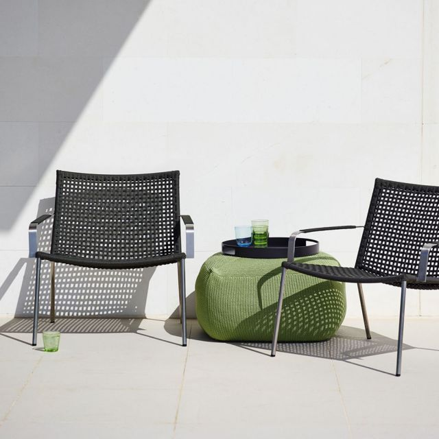 Straw Lounge Armchair