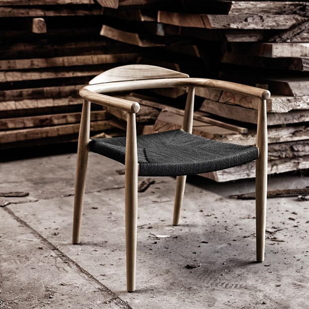 Dansk dining chair by Gloster